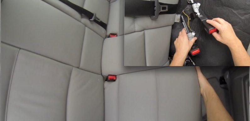 Car Seat Belt Replacement